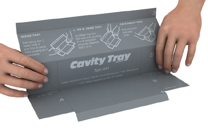 Cavity Trays Damp Proofing Amp Installation Guides Ig