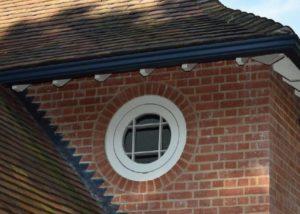 circle window, bullseye lintel, RIBA journal, IG Lintels, brick detail