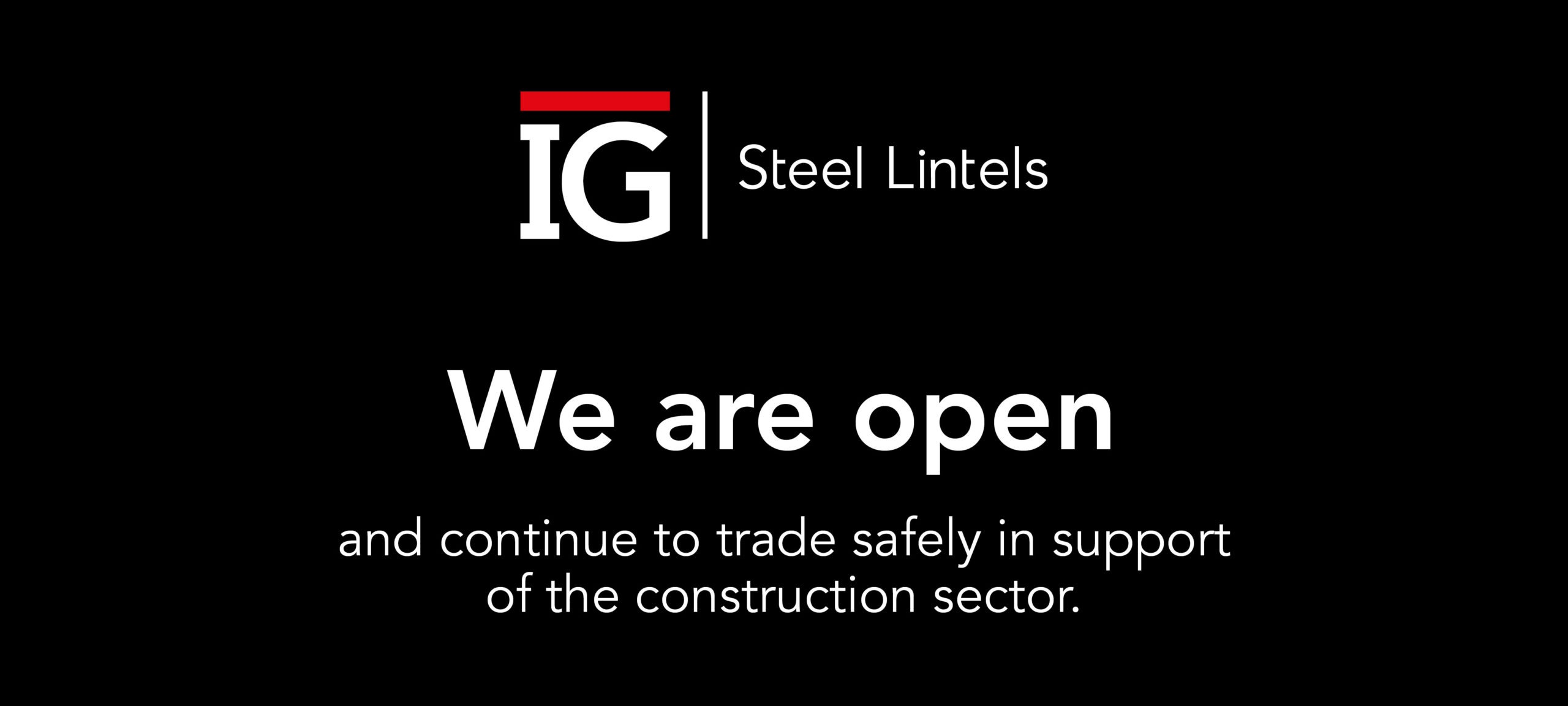 we are open and continue to trade safely